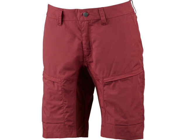 Lundhags Lykka II Pantalones cortos Mujer, garnet/dark red